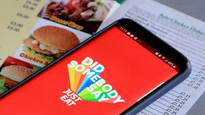 Just Eat was bought by Takeaway.com earlier this year (Gareth Fuller/PA Wire)