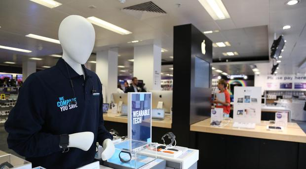The mobile business is weighing on Dixons Carphone (Dixons Carphone/PA)