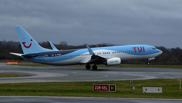 Holiday giant Tui has seen shares soar after revealing its best ever monthly bookings in January thanks to the collapse of rival Thomas Cook (Peter Byrne/PA)