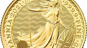 The Royal Mint has given details of the safety features of its new Britannia gold bullion coins (Royal Mint/PA)