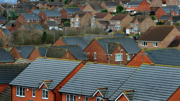The number of new homes registered to be built in Northern Ireland and the Isle of Man dropped by 4% last year, according to the latest figures (stock picture)