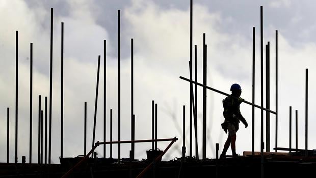 The number of new build homes started across England fell by 11% between July and September compared with the same period a year earlier, Government figures show (Gareth Fuller/PA)
