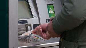 The extent to which cash machine withdrawals have plunged during the coronavirus crisis has varied widely across the UK, analysis by ATM network Link reveals (Aaron Chown/PA)