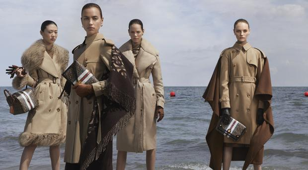 Burberry investors are fearful that the political turmoil in Hong Kong could impact sales growth (Burberry/PA)