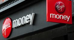 Virgin Money has revealed a hit to mortgage lending (PA)