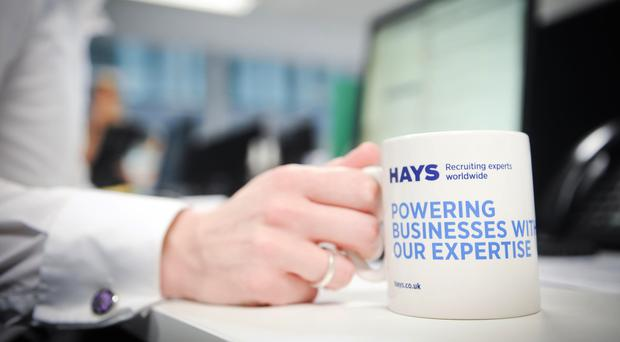 White-collar recruitment specialist Hays carried out research (PA)