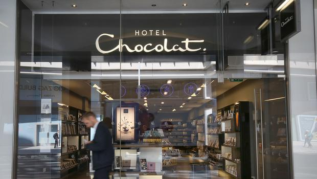 Hotel Chocolat reported a jump in profits (PA)