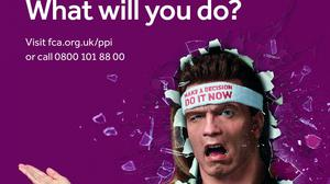 FCA advertising reminded people of the PPI complaints deadline (Financial Conduct Authority/PA)