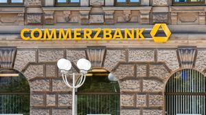 Commerzbank London has been fined £38m by the FCA for money-laundering breaches. (Commerzbank / PA)