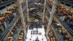 Lloyd's of London will also take the opportunity to deep-clean the so-called underwriting room and all public areas in the Lloyd's building during the closure (Aaron Chown/PA)