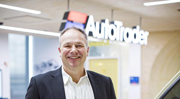 Trevor Mathe is stepping down as chief executive of Auto Trader (Jonathan Cole/Auto Trader/PA)