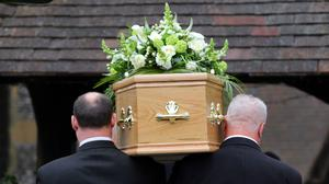 The cost of funerals has risen hugely in recent years (PA)