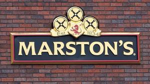 Marston's previously warned that annual profits would be lower than expected due to a poor performance in food sales (David Jones/PA)