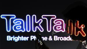 TalkTalk increased the number of new fibre sign-ups versus last year (PA)