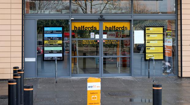 Halfords has seen an uptick in sales due to strong bike demand (Chris Radburn / PA)