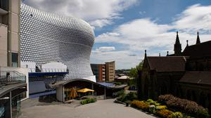 The Bullring and other shopping centres were nearly deserted during the lockdown (Jacob King/PA)