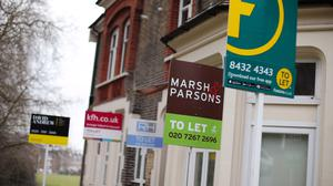 Renters need a targeted support package to help them clear arrears built up during the coronavirus pandemic, a group of organisations including charities and landlords is urging (Yui Mok/PA)