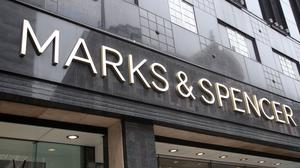 Marks and Spencer has revealed a tepid response to its £600 million investor cash-call to finance its joint venture deal with online grocer Ocado (PA)