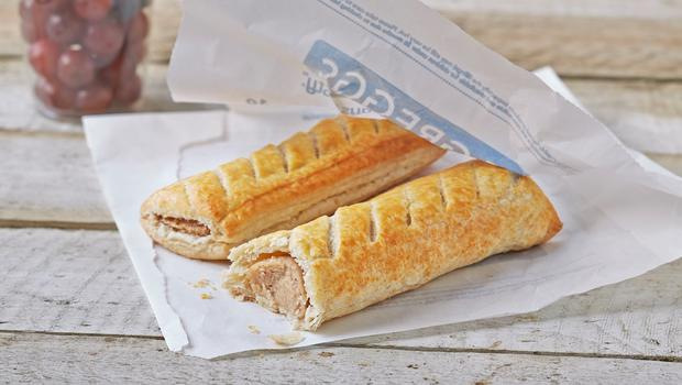 Shares in Greggs rose on Monday (PA)