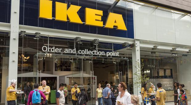 "Undated handout photo issued by Ikea of one of its smaller click and collect stores, as the Swedish flat pack furniture giant posted rising global sales despite an overhaul under one of the ""biggest transformations"" in its history (Ikea/PA)"