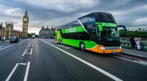 FlixBus is set to launch its first domestic routes in the UK on Thursday (FlixBus/PA)