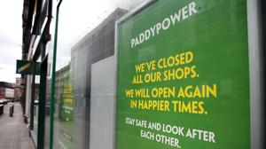 Betting shops across the country have closed because of the coronavirus outbreak (Andrew Milligan/PA)