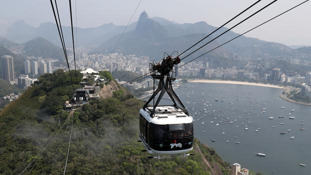 Flights to Rio helped push up passenger numbers at Gatwick (Andrew Matthews/PA)