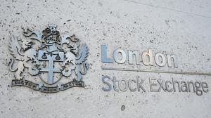 The FTSE 100 ended the week in the red (PA)
