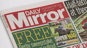 Daily Mirror owner Reach saw revenues fall 3% in 2019 (Jonathan Brady/PA)