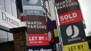 The number of house hunters rebounded in June, but property professionals were cautious about the year ahead, according to the Royal Institution of Chartered Surveyors (PA)