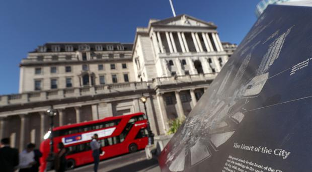 The Bank of England cut through the noise on a busy day. (Yui Mok/PA)