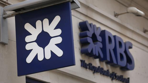 RBS was one of the biggest fallers on the FTSE 100 (Philip Toscano/PA)