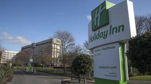 The Holiday Inn Hotel near the M4 motorway close to Heathrow Airport, London (Steve Parsons/PA)