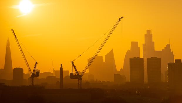 Construction data shows the sector is in decline, but there is hope for the year ahead (Dominic Lipinski/PA)