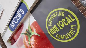 McColl's shares tumbled after it slid to a loss and posted lower annual sales (McColls/PA)