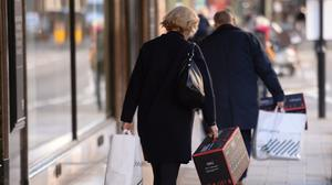 January retail figures have been released by the BRC and KPMG (Stefan Rousseau/PA)