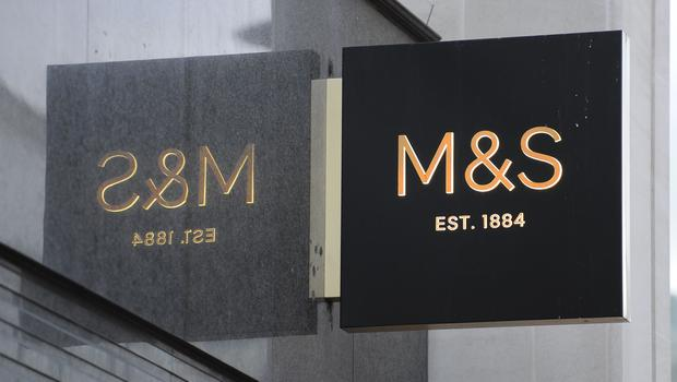 A Marks and Spencer store (Charlotte Ball/PA)