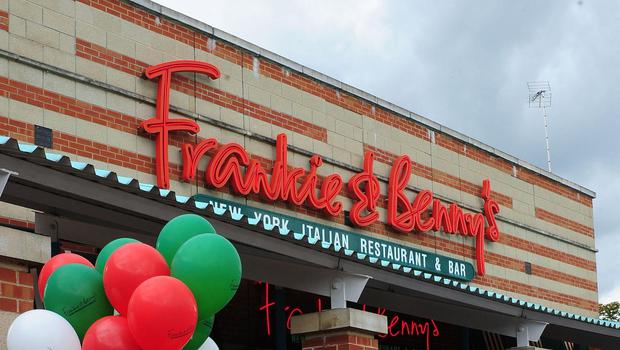 Sales at Frankie and Benny's were hit by bad weather (Anna Gowthorpe/PA)
