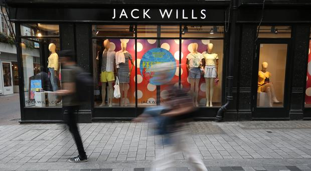 Jack Wills was bought by Sports Direct this month (PA)