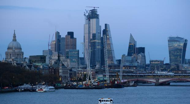 Profits for UK firms fell in third quarter, according to new data from the Share Centre (Kirsty O'Connor / PA)