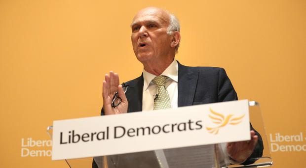 Sir Vince Cable said the martyrdom of the old came cheap, since few had jobs to lose