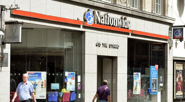 Nationwide's underlying pre-tax profits in the three months to June 30 dropped 18% to £301 million
