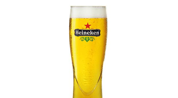 A pint of Heineken