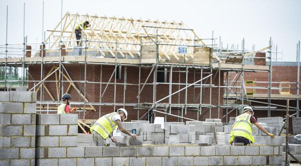 The number of new build homes being started across England is at the highest level for nine years