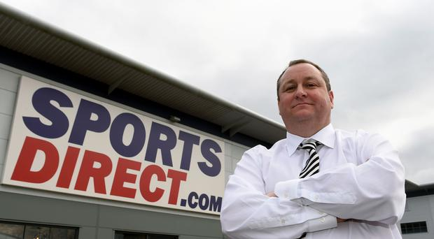 File photo dated 21/03/16 of Sports Direct founder Mike Ashley