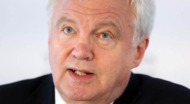 David Davis is in Brussels for the latest round of Brexit negotiations