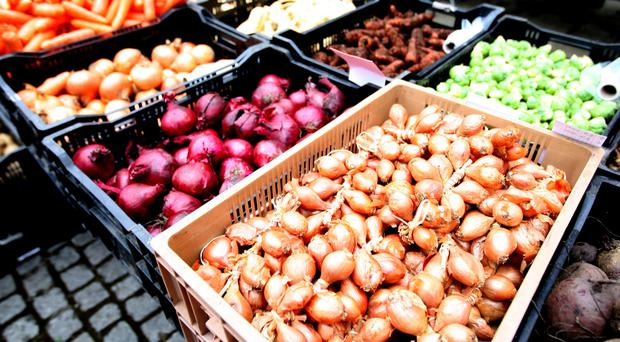 The availability of UK-grown fruit and vegetables is currently protecting consumers from higher import prices