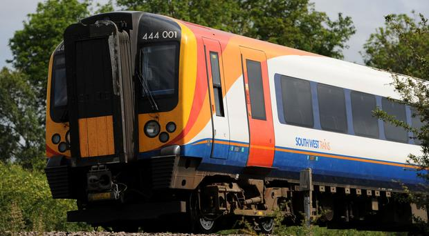 South West Trains services were disrupted as three platforms at London Waterloo were closed