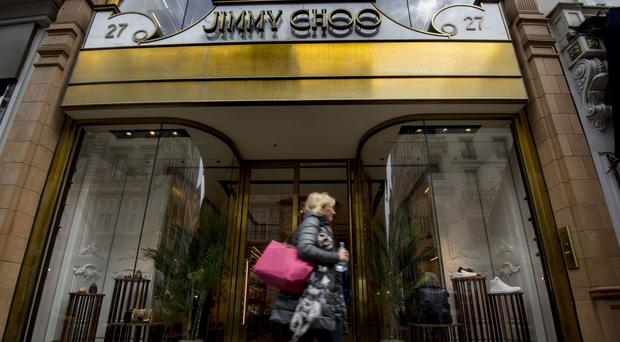 Jimmy Choo posts bumper hike in profits ahead of Michael Kors takeover