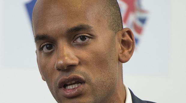 Labour's Chuka Umunna co-chairs the All-Party Parliamentary Group on EU Relations with Tory Anna Soubry.
